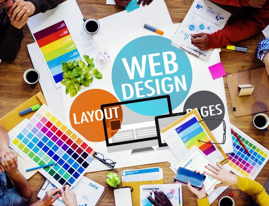 Four services offered by Web Design Companies